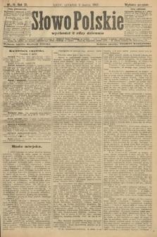 Słowo Polskie (wydanie poranne). 1906, nr111