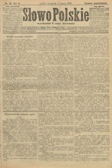 Słowo Polskie (wydanie popołudniowe). 1906, nr112