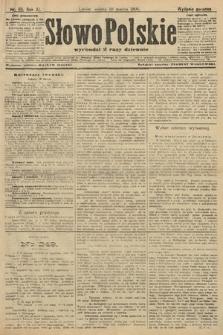 Słowo Polskie (wydanie poranne). 1906, nr115