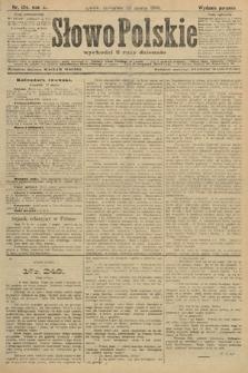 Słowo Polskie (wydanie poranne). 1906, nr124