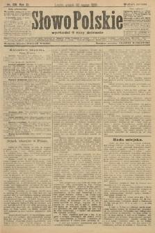 Słowo Polskie (wydanie poranne). 1906, nr126