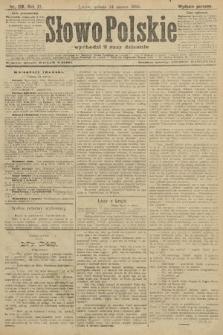 Słowo Polskie (wydanie poranne). 1906, nr128