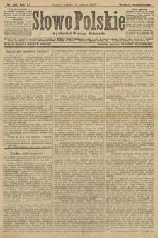 Słowo Polskie (wydanie popołudniowe). 1906, nr133
