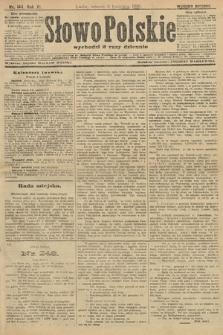 Słowo Polskie (wydanie poranne). 1906, nr144