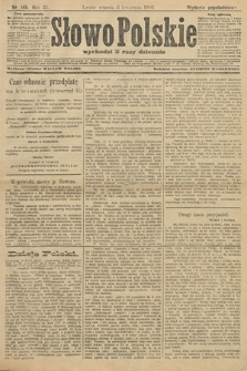 Słowo Polskie (wydanie popołudniowe). 1906, nr145