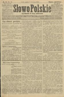 Słowo Polskie (wydanie popołudniowe). 1906, nr151