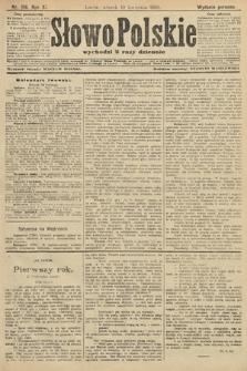 Słowo Polskie (wydanie poranne). 1906, nr156