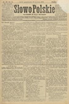 Słowo Polskie (wydanie popołudniowe). 1906, nr176