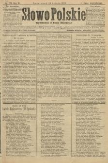 Słowo Polskie (wydanie popołudniowe). 1906, nr178