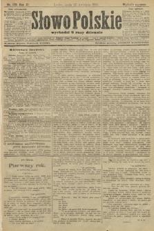 Słowo Polskie (wydanie poranne). 1906, nr179