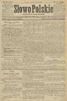 Słowo Polskie (wydanie poranne). 1906, nr189