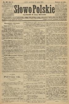 Słowo Polskie (wydanie poranne). 1906, nr198