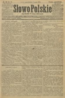 Słowo Polskie (wydanie popołudniowe). 1906, nr199