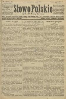 Słowo Polskie (wydanie popołudniowe). 1906, nr205