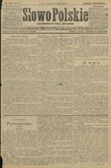 Słowo Polskie (wydanie popołudniowe). 1906, nr207