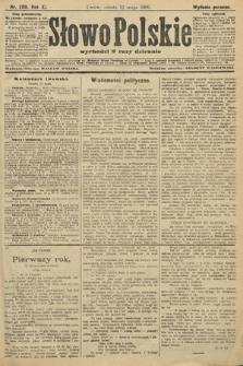 Słowo Polskie (wydanie poranne). 1906, nr208