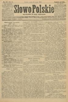 Słowo Polskie (wydanie poranne). 1906, nr214