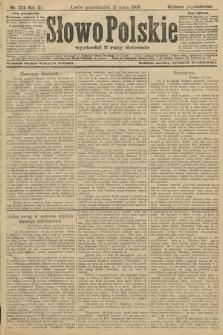 Słowo Polskie (wydanie popołudniowe). 1906, nr223