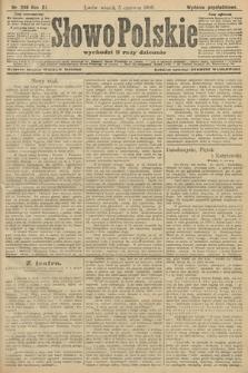 Słowo Polskie (wydanie popołudniowe). 1906, nr246