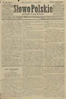 Słowo Polskie (wydanie popołudniowe). 1906, nr250