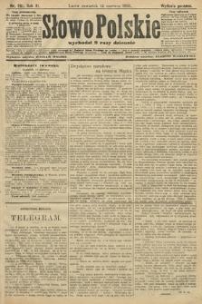 Słowo Polskie (wydanie poranne). 1906, nr261