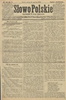 Słowo Polskie (wydanie popołudniowe). 1906, nr265
