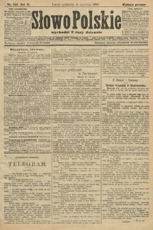 Słowo Polskie (wydanie poranne). 1906, nr266