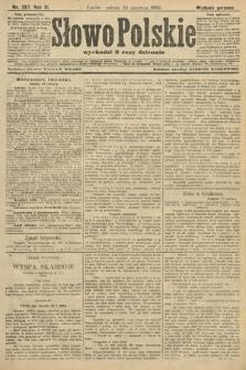 Słowo Polskie (wydanie poranne). 1906, nr287