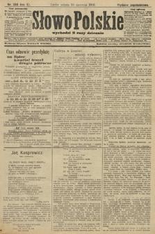 Słowo Polskie (wydanie popołudniowe). 1906, nr288