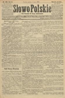 Słowo Polskie (wydanie poranne). 1906, nr299