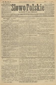 Słowo Polskie (wydanie poranne). 1906, nr301