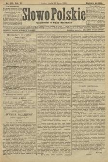Słowo Polskie (wydanie poranne). 1906, nr305