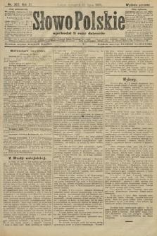Słowo Polskie (wydanie poranne). 1906, nr307