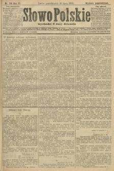 Słowo Polskie (wydanie popołudniowe). 1906, nr314