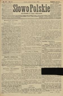 Słowo Polskie (wydanie poranne). 1906, nr317