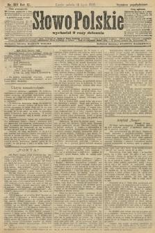 Słowo Polskie (wydanie popołudniowe). 1906, nr324