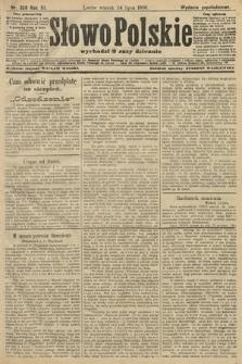 Słowo Polskie (wydanie popołudniowe). 1906, nr328