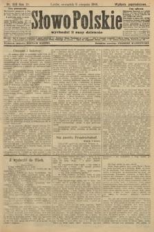 Słowo Polskie (wydanie popołudniowe). 1906, nr356