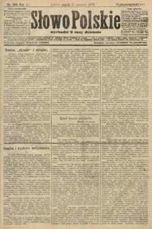 Słowo Polskie (wydanie popołudniowe). 1906, nr369
