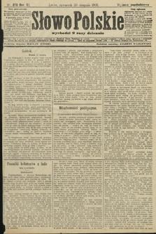 Słowo Polskie (wydanie popołudniowe). 1906, nr379