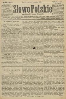 Słowo Polskie (wydanie poranne). 1906, nr398