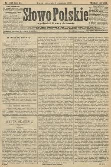 Słowo Polskie (wydanie poranne). 1906, nr402