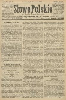 Słowo Polskie (wydanie poranne). 1906, nr404