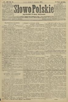 Słowo Polskie (wydanie poranne). 1906, nr406