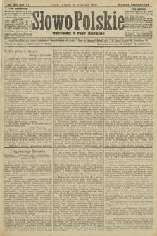 Słowo Polskie (wydanie popołudniowe). 1906, nr410