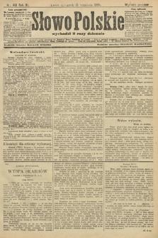 Słowo Polskie (wydanie poranne). 1906, nr413