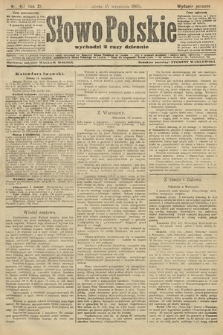 Słowo Polskie (wydanie poranne). 1906, nr417