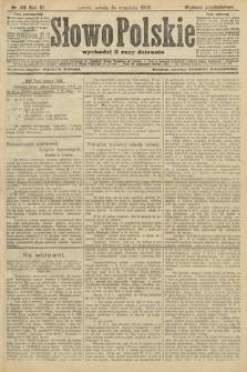 Słowo Polskie (wydanie popołudniowe). 1906, nr418