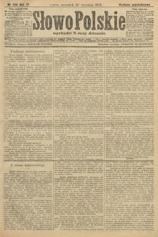 Słowo Polskie (wydanie popołudniowe). 1906, nr426