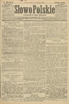 Słowo Polskie (wydanie poranne). 1906, nr435